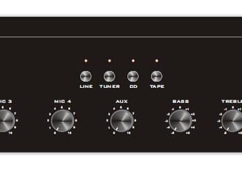 Amplificateur mélangeur MA60H